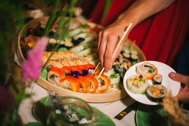 Sushi weselne